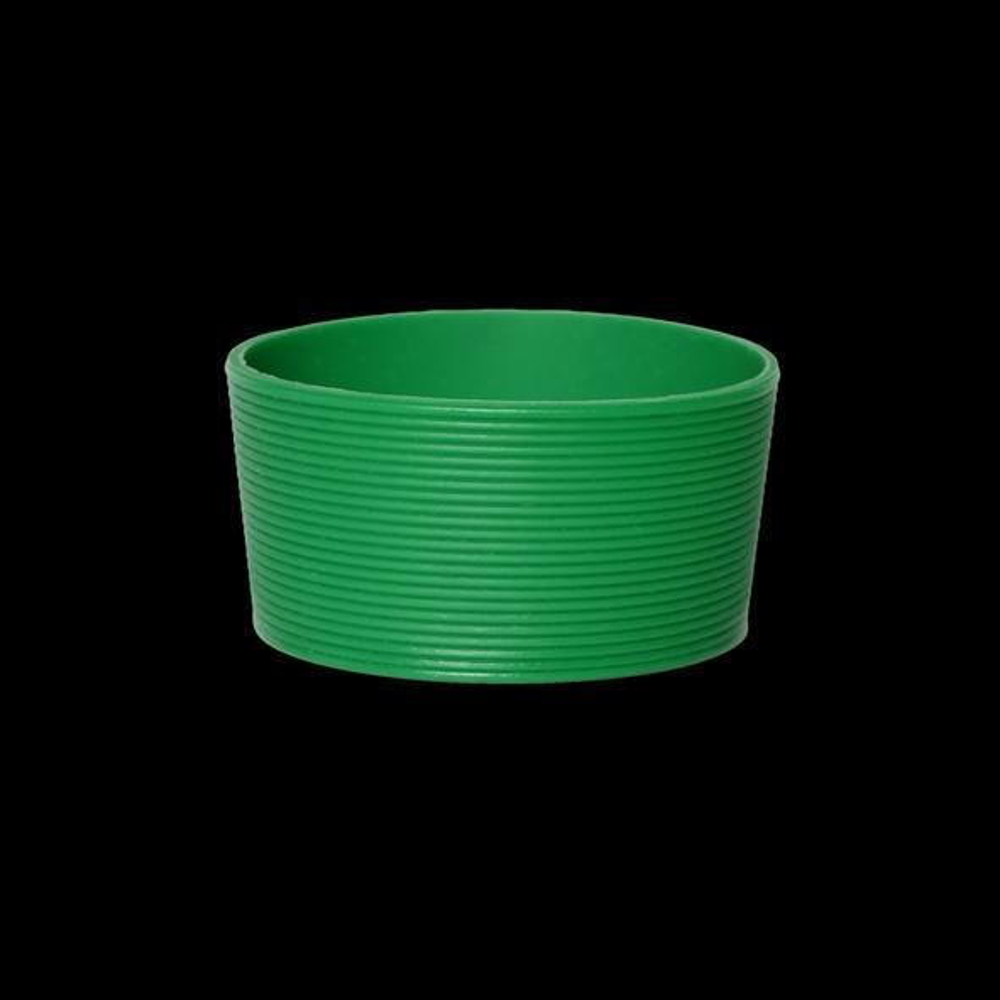 Silikonbanderole grün für Becher 0,20 l