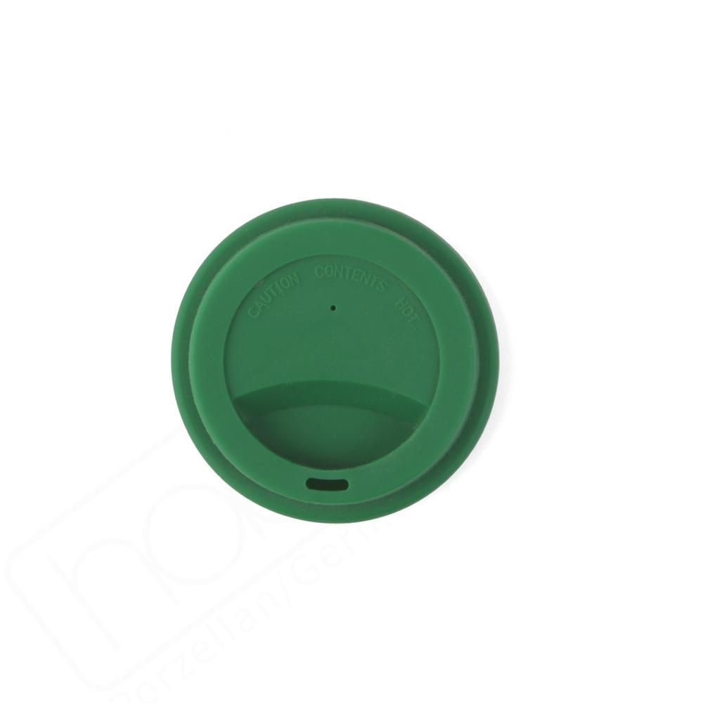 Silkondeckel grün für Becher 0,20 l