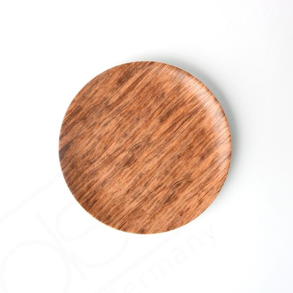 "Coup Teller flach 21 cm ""Wood Design"""