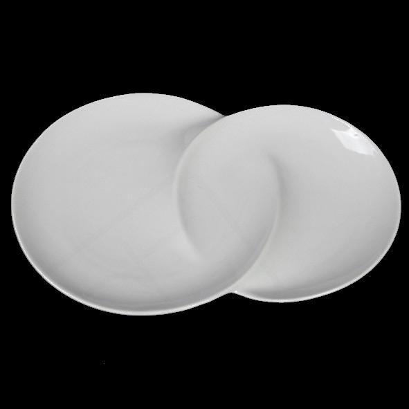Duo dish 31 x 21 cm, second choice