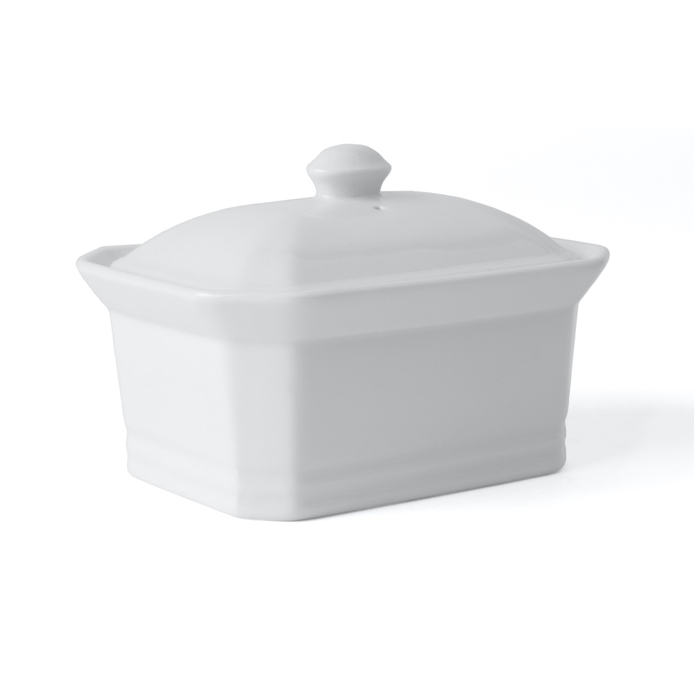 Rectangular tureen for oven 400 g