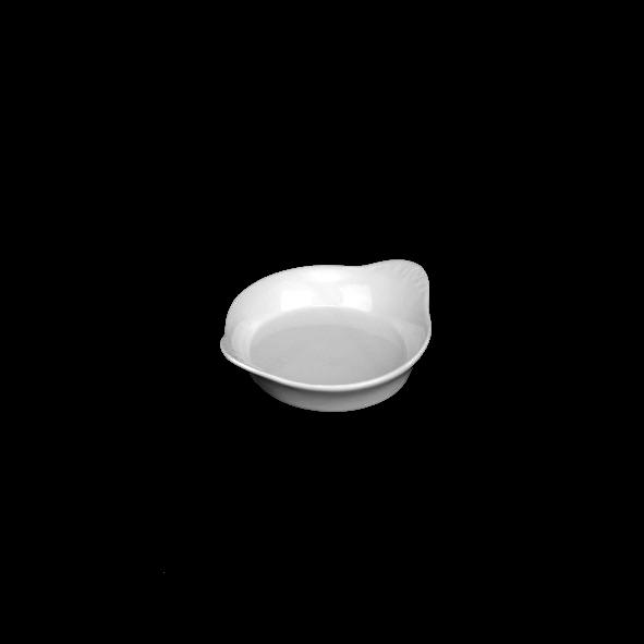 Crème Brûlée Minischale  7 cm m. Flammenrelief