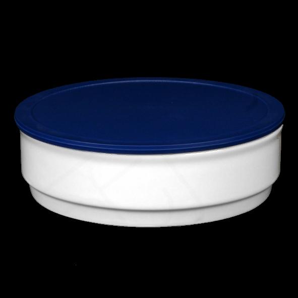Schale 0,80 l stapelbar mit Deckel blau