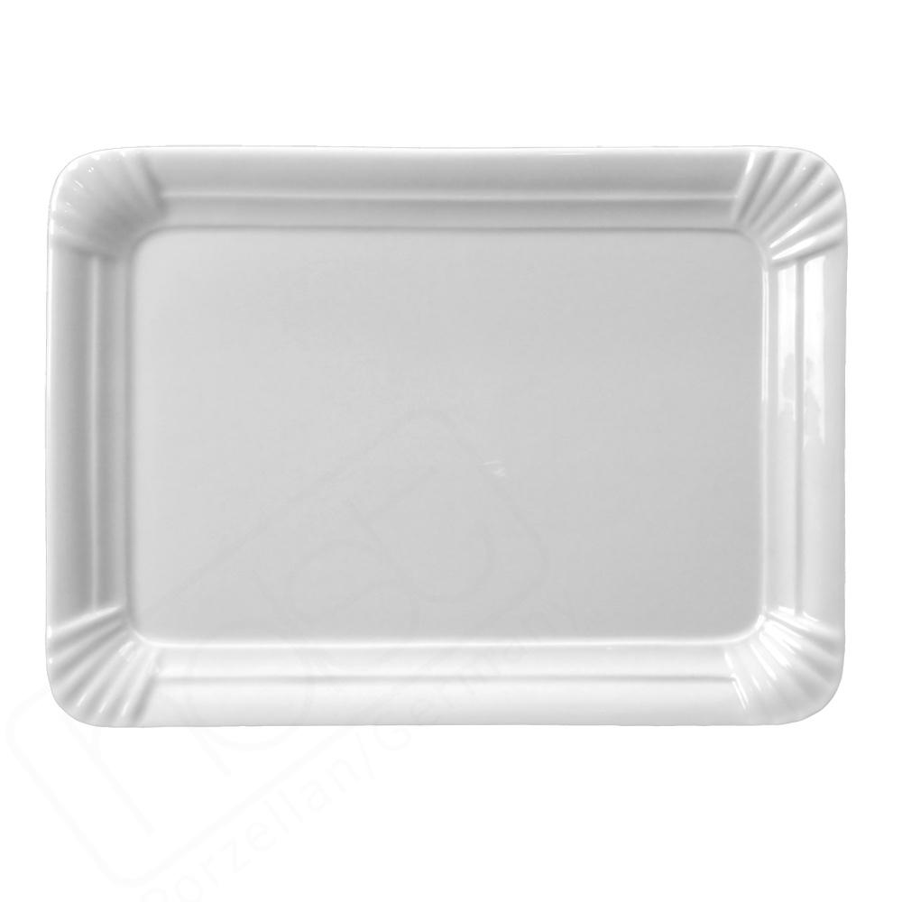 Rectangular plate 25 x 18 cm