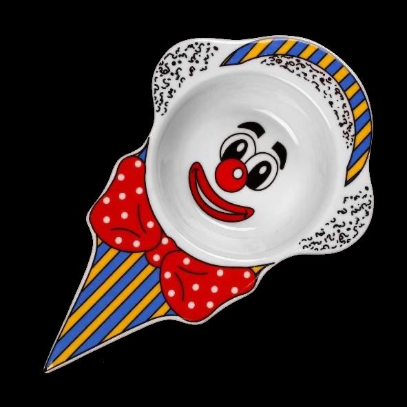 """Eis- und Dessertschale 24 cm """"Clown"""""""