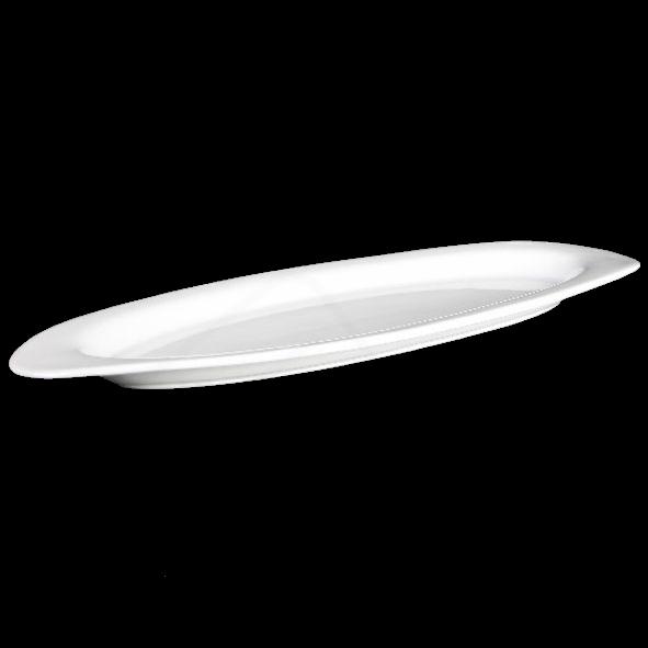 Platte oval 48 x 19 cm ''Vital Level'' flach - Zweite Wahl (*)
