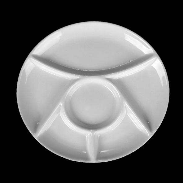 Fondue plate 28 cm (*)