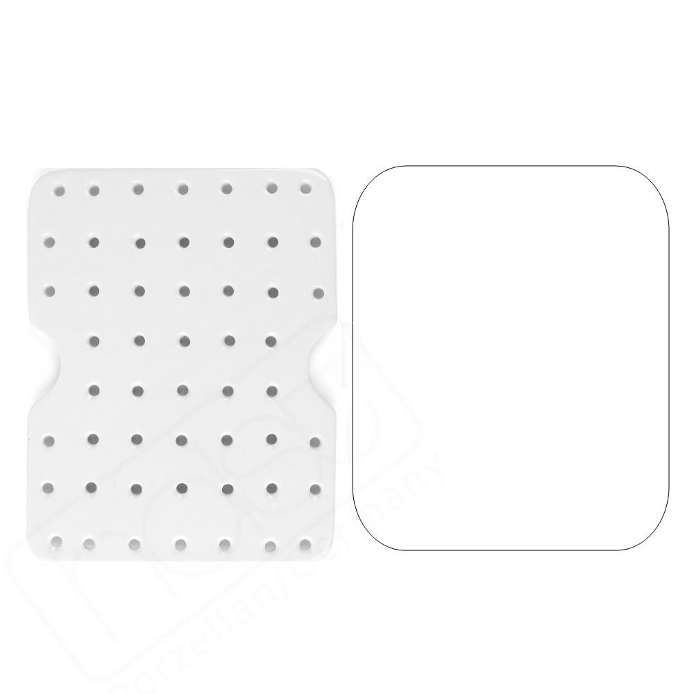 Tischschutz & Untersetzer rechteckig 24 x 19 cm (**)