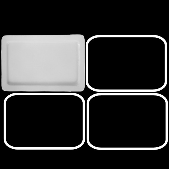 Gastronorm GN-Platte 20 mm GN 1/4 - Zweite Wahl (*)