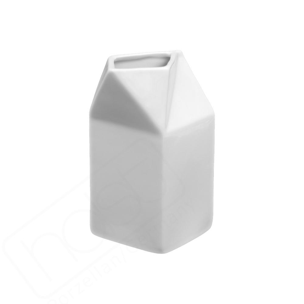 """Porzellan Portionskrug 0,50 l """"Milchtüte"""" (**)"""