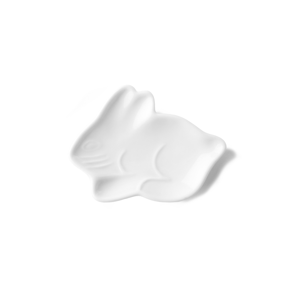 Rabbit shaped plate 6 cm