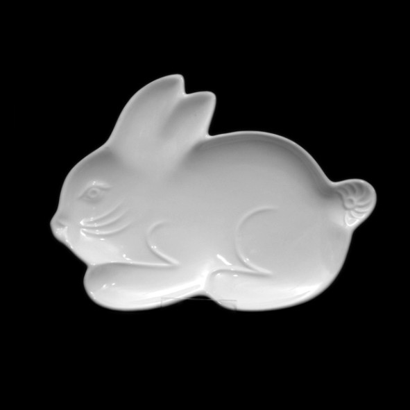 Rabbit shaped plate 24 cm