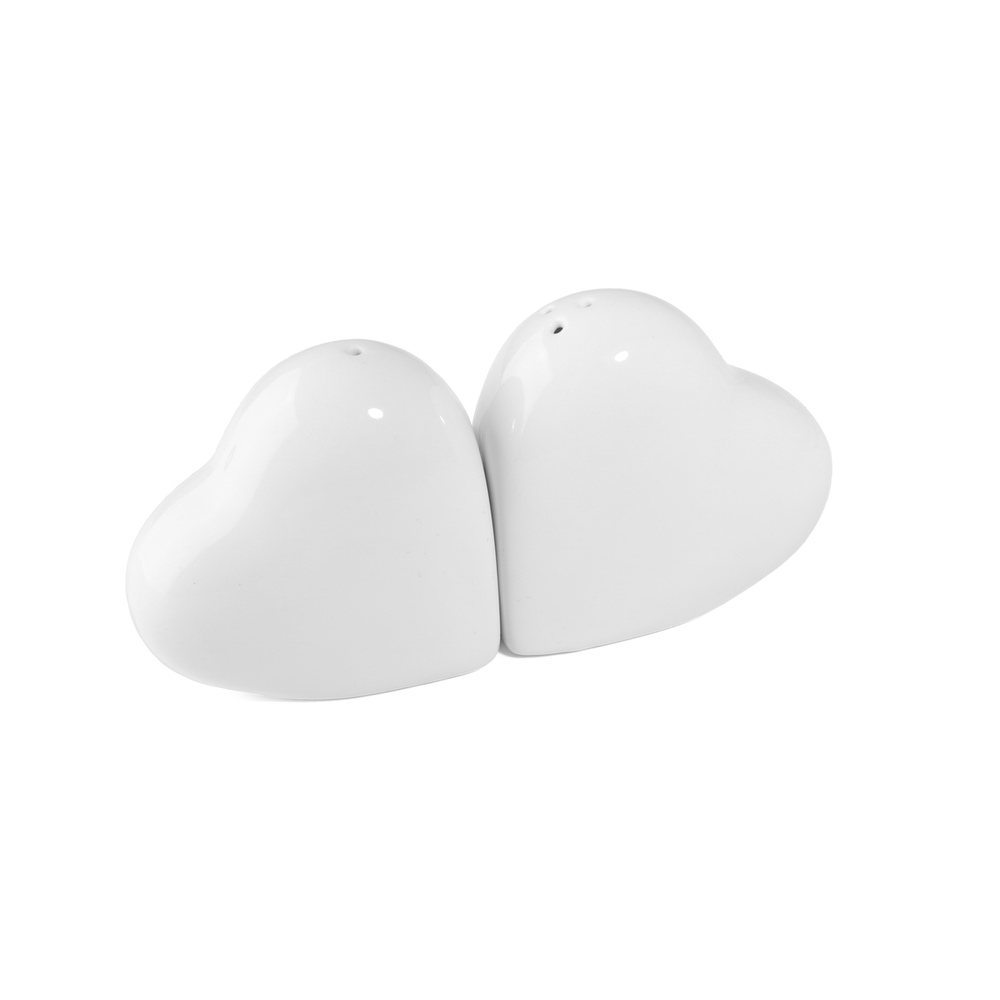 Salt & Pepper Shaker ''Heart''