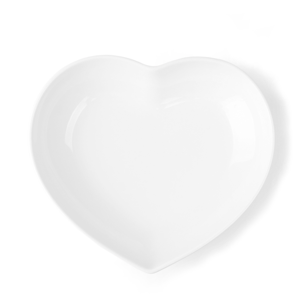 Heart shaped dish 21,0 cm