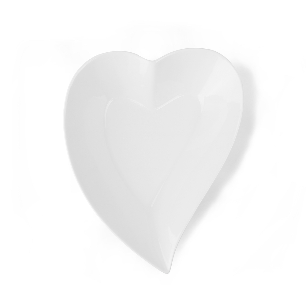 Heart shaped bowl 25 cm
