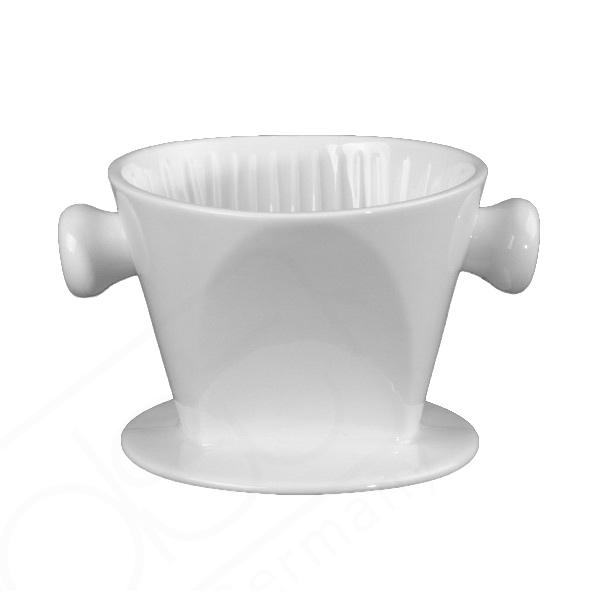 Kaffeefilter aus Porzellan für Tischkanne (**)