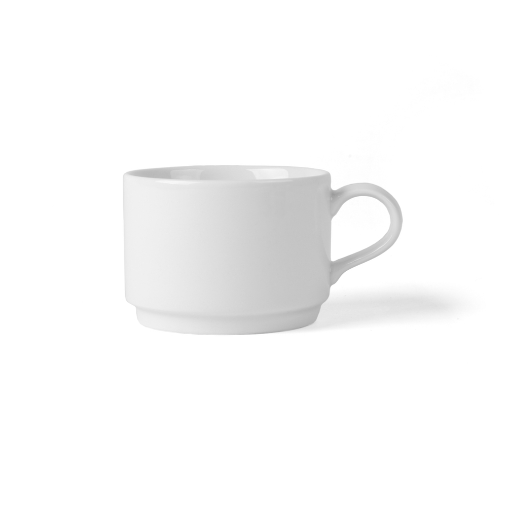 Taza de cafe Porcelana Superduro 0,22 l apilable