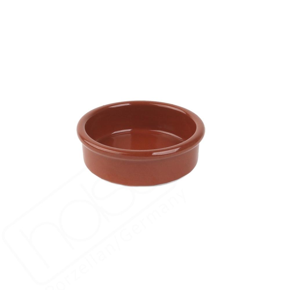 "Keramikschale  8 cm ""Mediterrano braun"" o. Laffe"