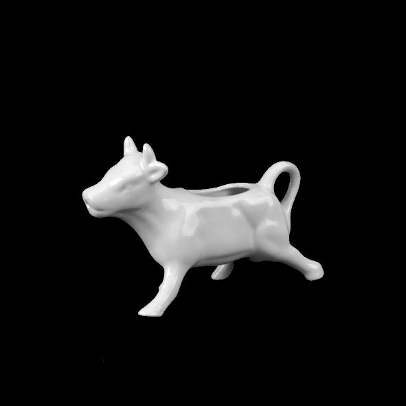 "Porzellanfigur ""Kuh"" 12 x 9 cm (**)"