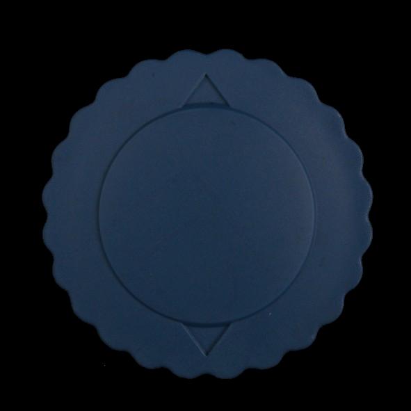 Kunststoff Klemmdeckel blau für Systemkanne 0,40 l