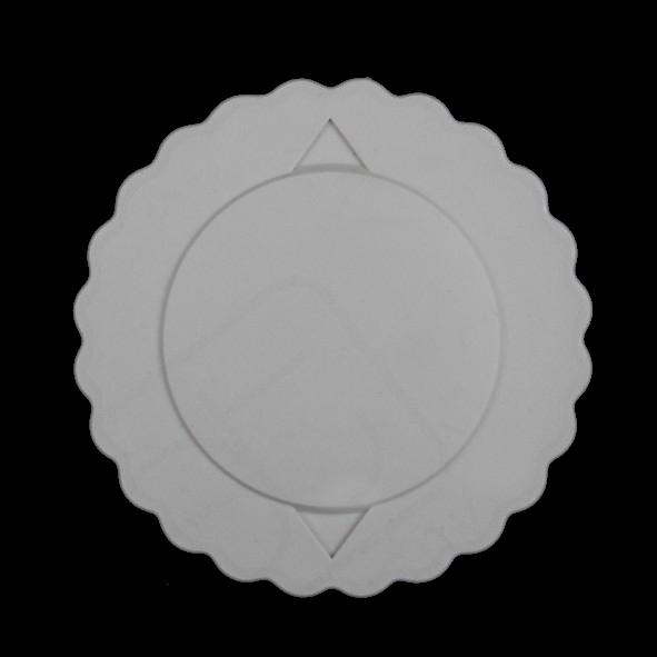 Kunststoff Klemmdeckel grau für Systemkanne 0,40 l (**)