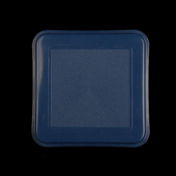Deckel f. Schale quadratisch 14 cm blau