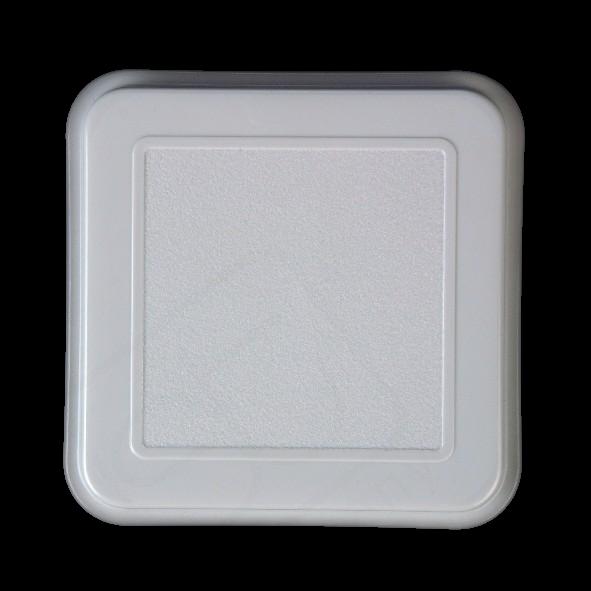 Deckel f. Schale quadratisch 14,5 cm grau