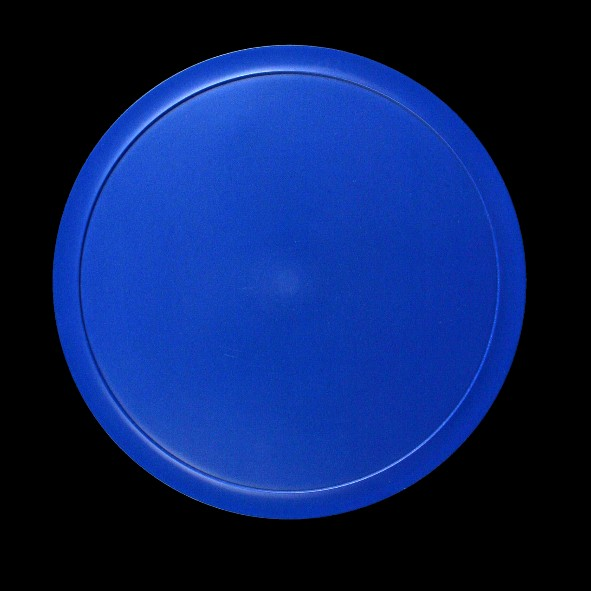 Kunststoffdeckel blau für Schale 0,80 l (**)