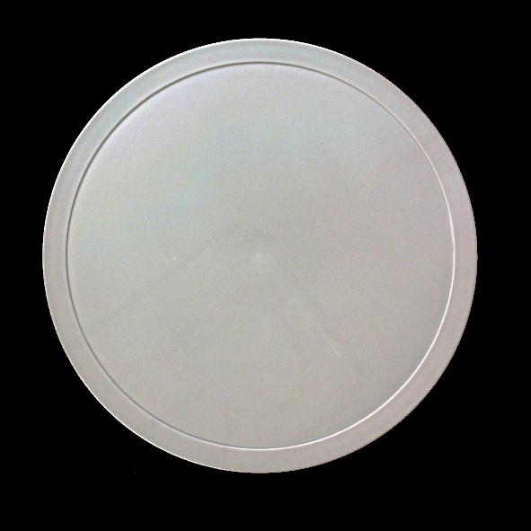 Kunststoffdeckel grau für Schale 0,80 l (**)