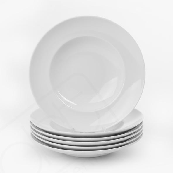 Oferta de 6 Platos de Pasta 27 cm