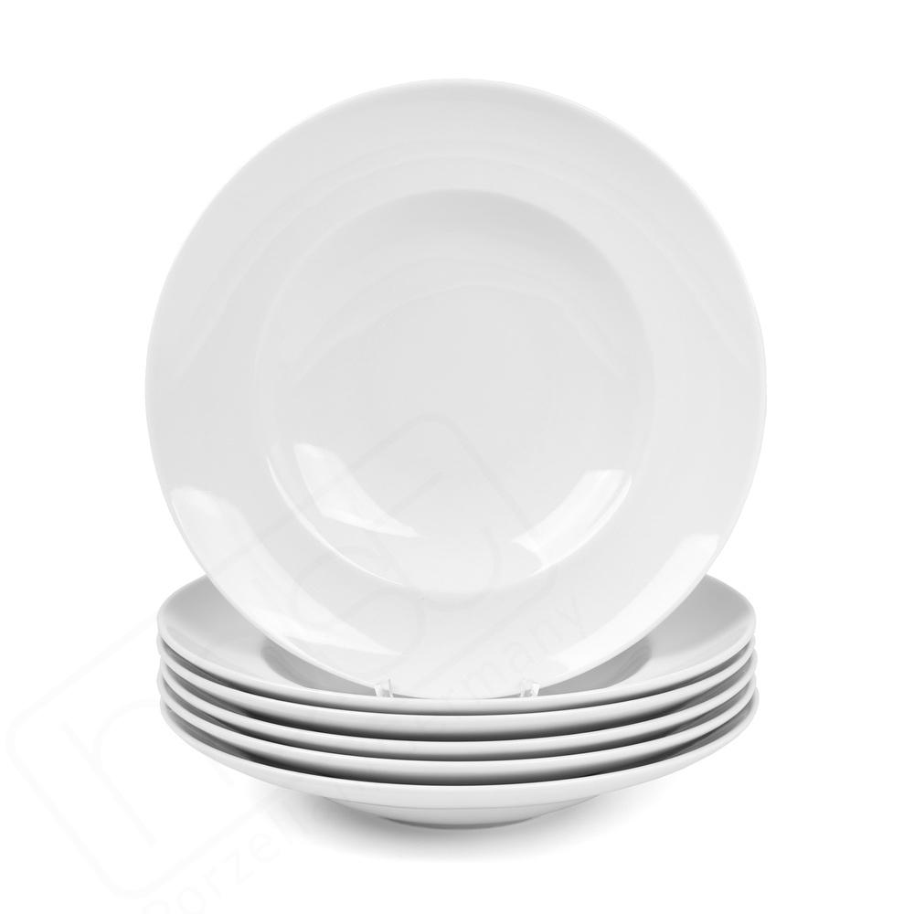 Oferta de 6 Plato de pasta 30 cm