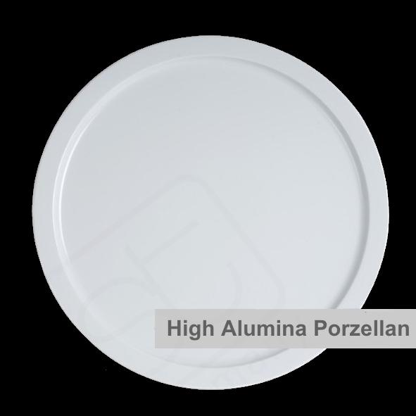 High Alumina Platte rund 33 cm