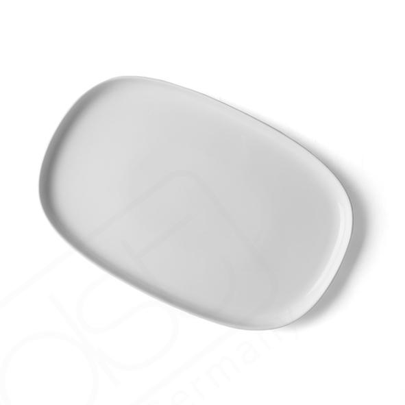 Plate 30 x 20 cm ''Skagen'' white