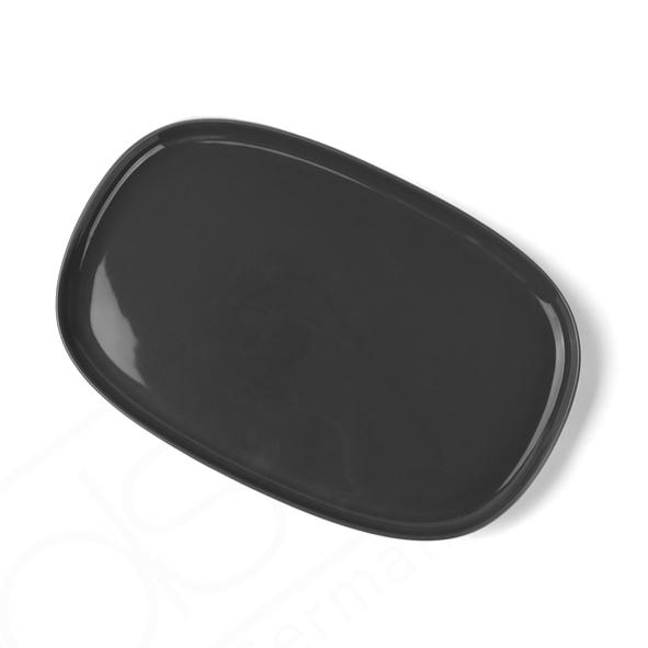"""High Alumina Platte 30 x 20 cm """"Skagen"""" grau"""