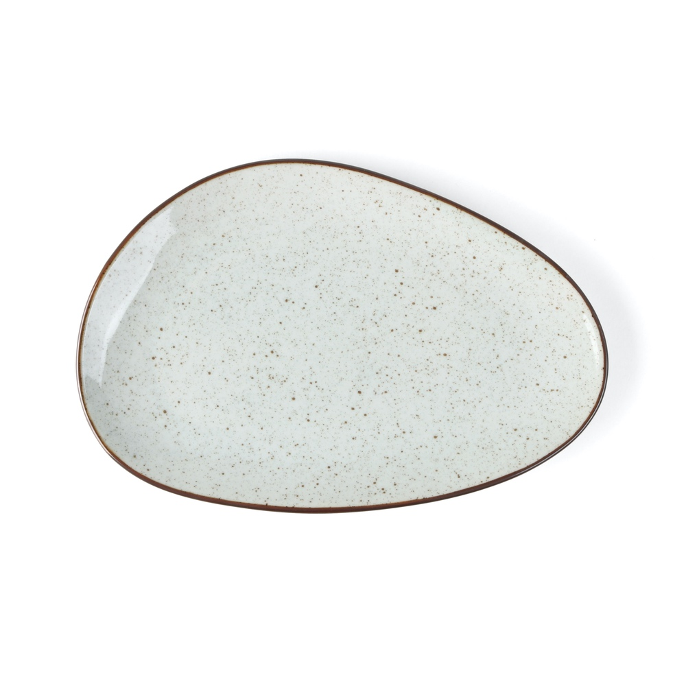 Plate 27 x 18 cm oval ''Re-Active Arena''