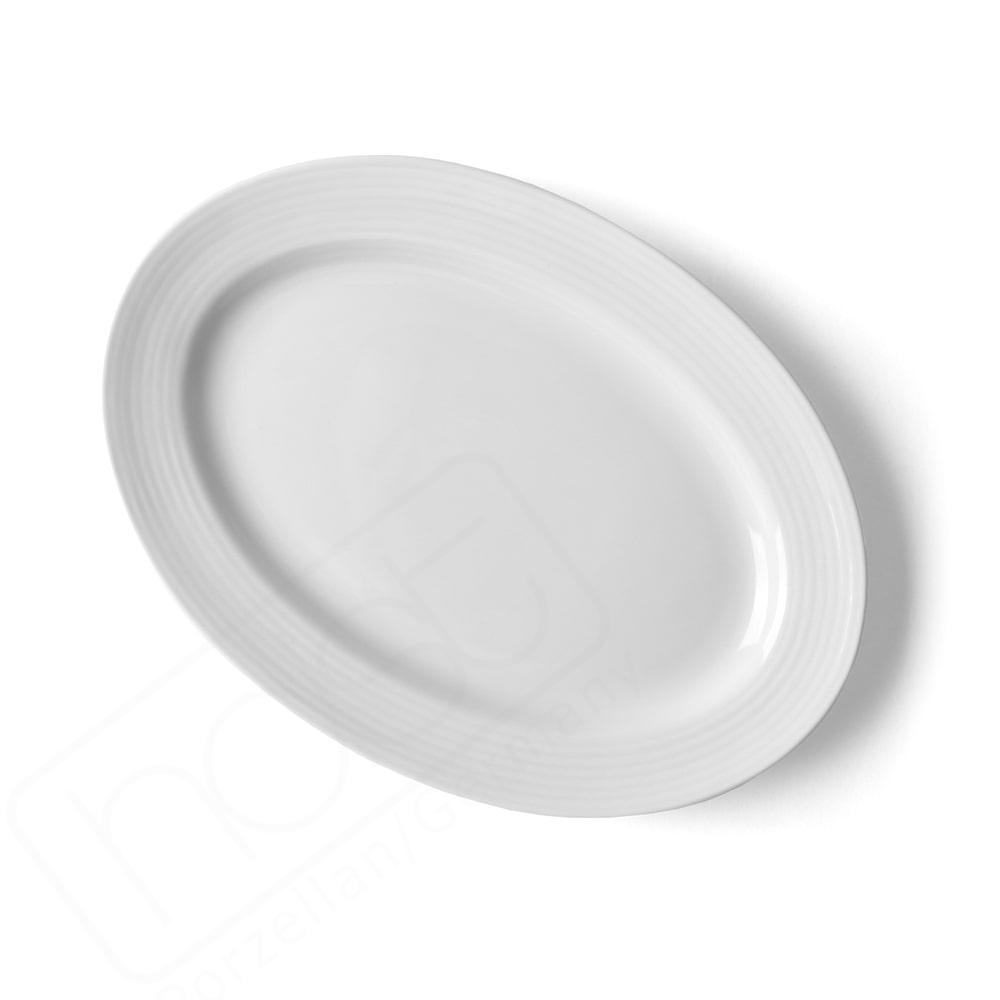 Oval plate 26 x 18 cm ''Paris''