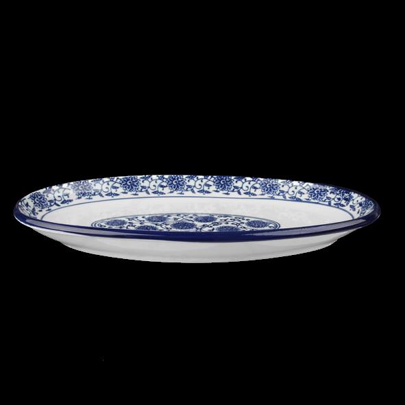 "Platte oval 30 x 18 cm ""Qing Hua Ci"""