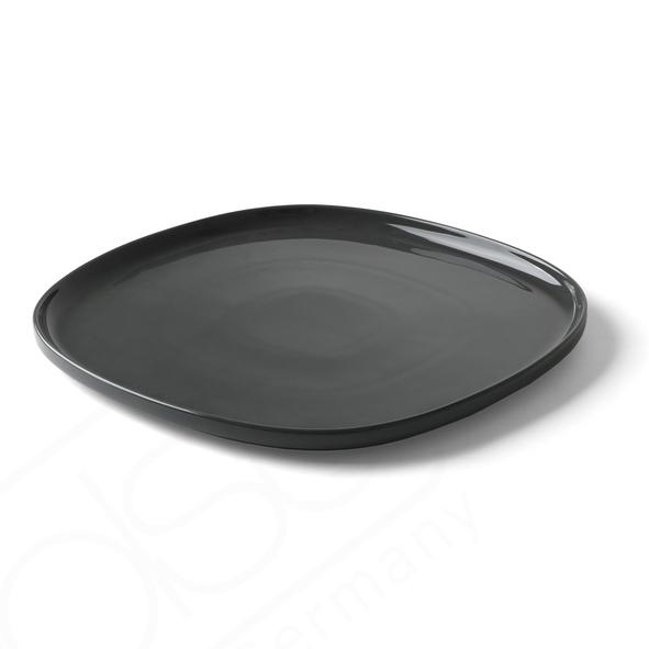 """Teller flach 32,5 cm """"Skagen"""" grau"""