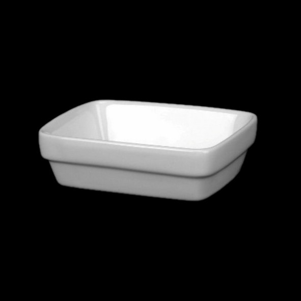 Rectangular bowl 8 x 11 cm stackable