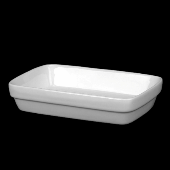 Rectangular dish 18,0 x 11,0 cm, stackable