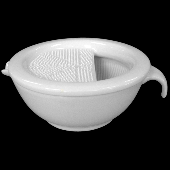 Mortar and grater combi set, two-piece