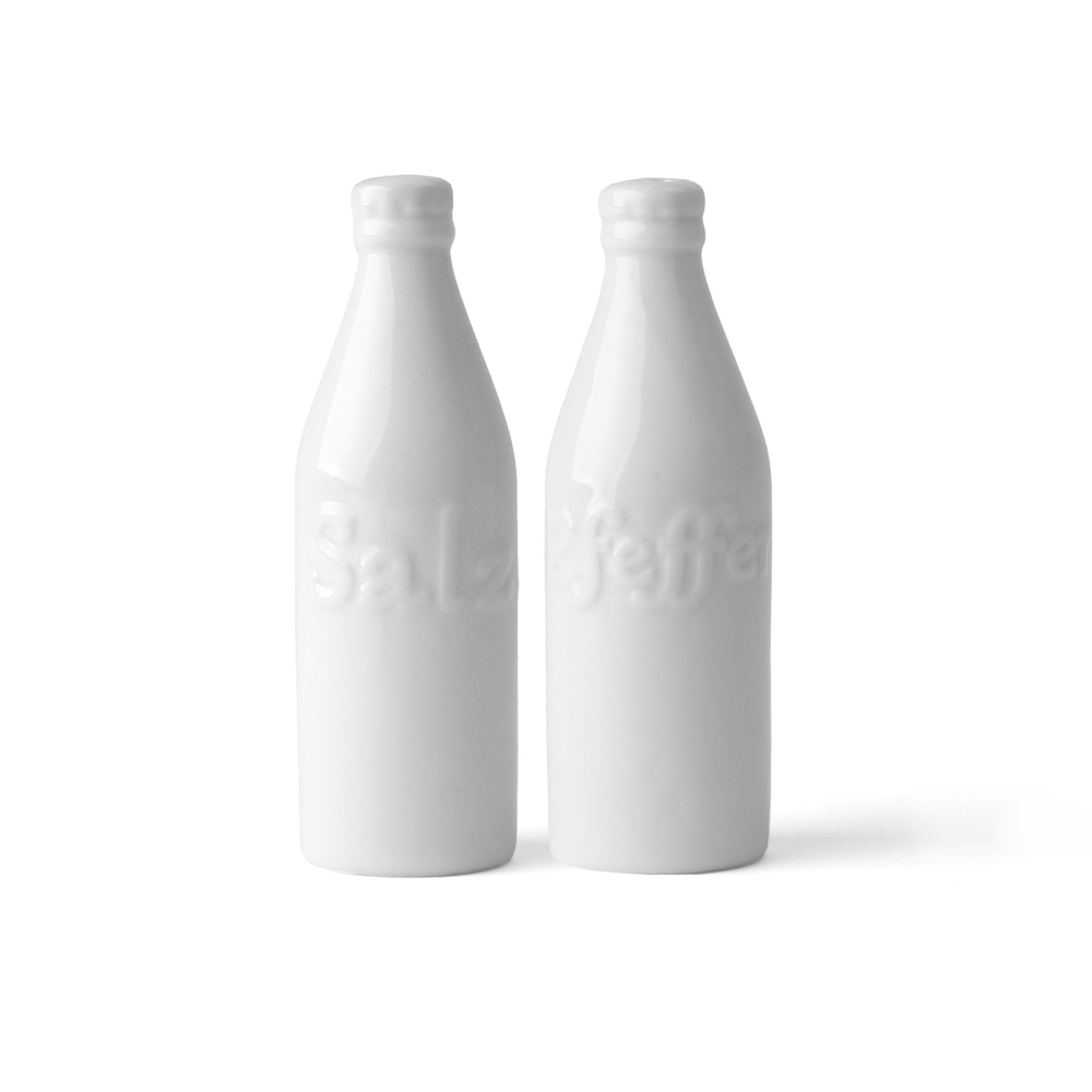 Salt & Pepper Shaker ''Bottles'' 2-pcs.