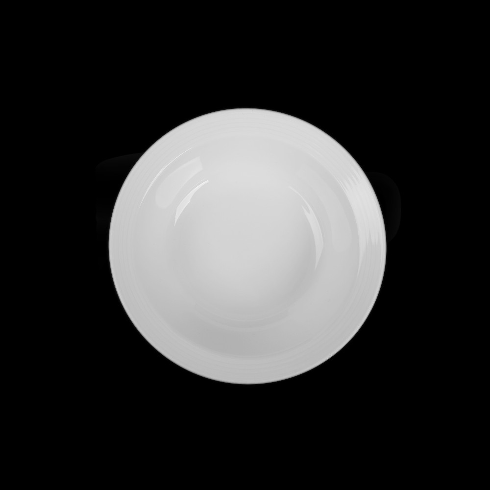 """Alumina Schale 17 cm / 0,25 l Reliefform """"Paris"""""""