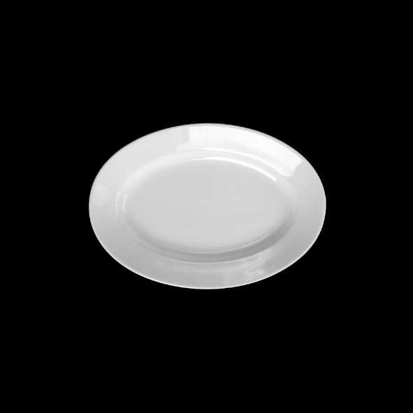 "Platte oval 25 x 17 cm ""Italy"" tief (**)"