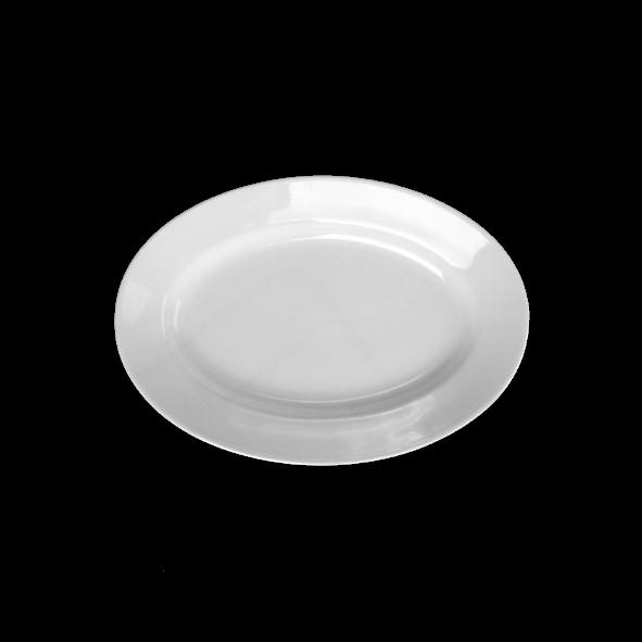 "Platte oval 27 x 18 cm ""Italy"" tief"