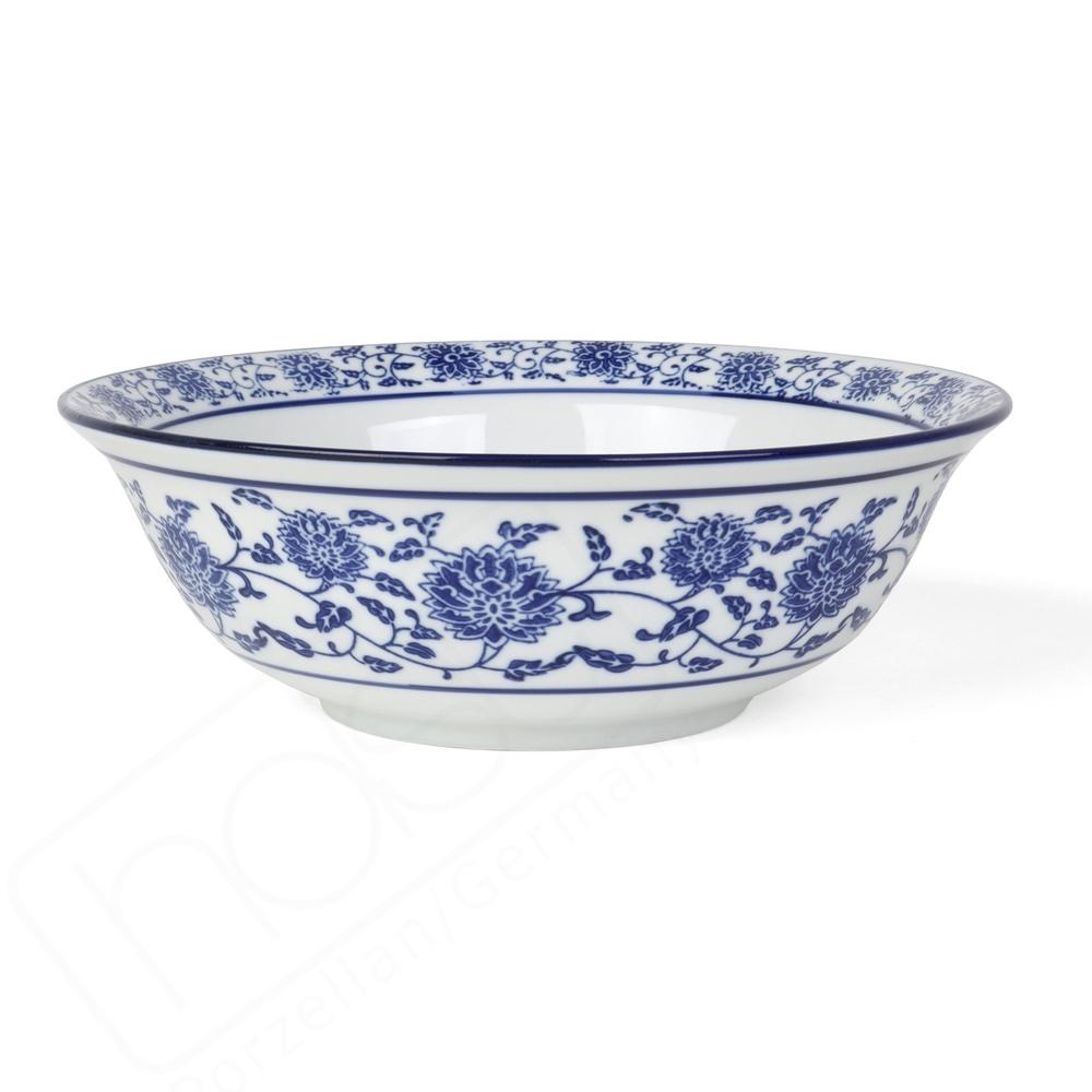 """Servierschale 23 cm """"Qing Hua Ci"""" (**)"""