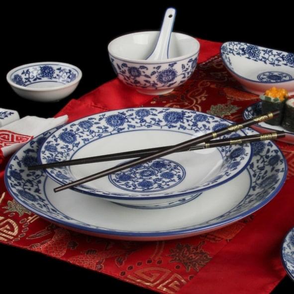 Asia Dinner Set 120 Teile