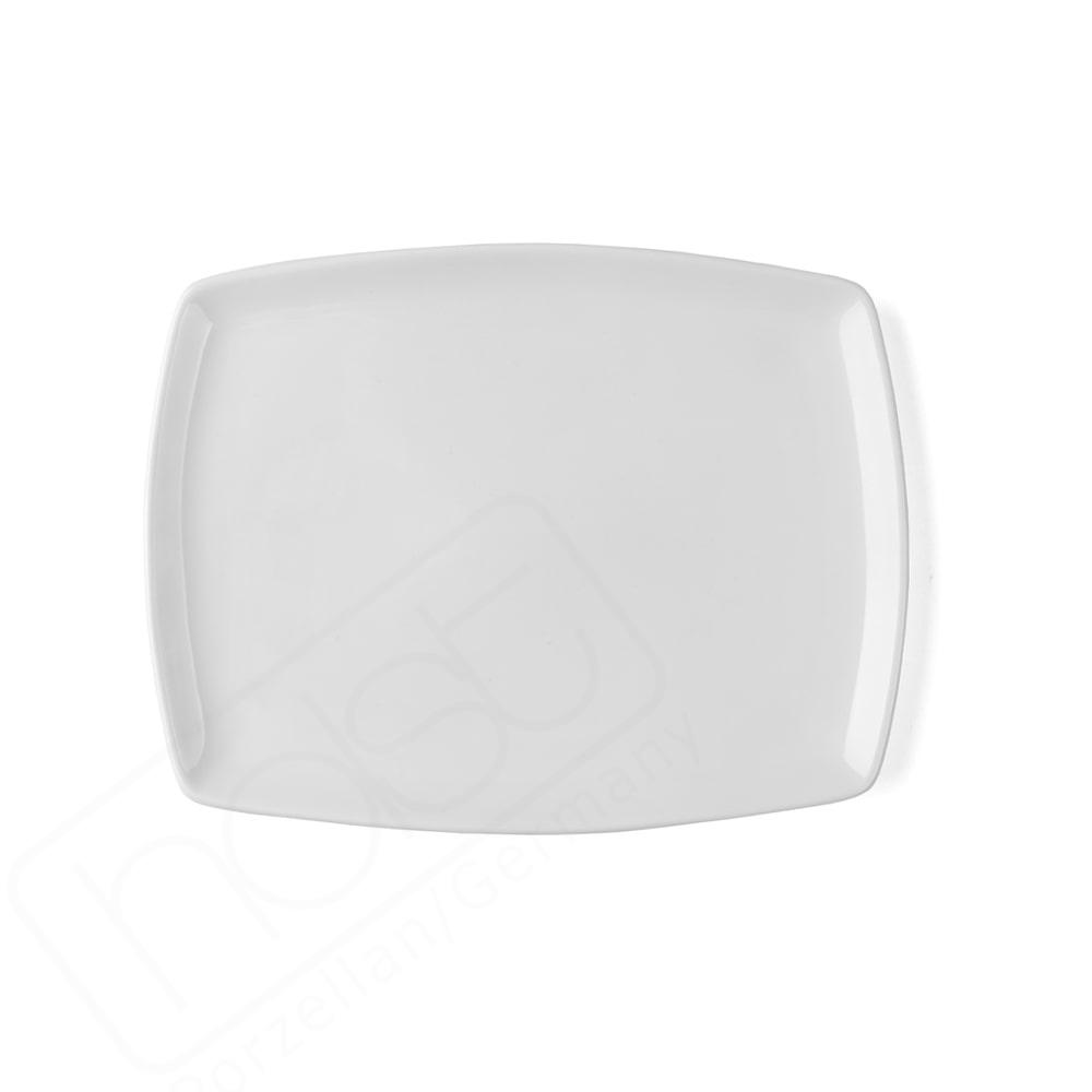 """Plato de Porcelana Superduro plano 25 cm ''Fine Dining"""""""