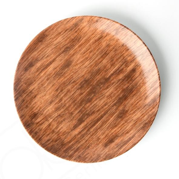 "Teller Coup flach 28 cm ""Wood Design"""