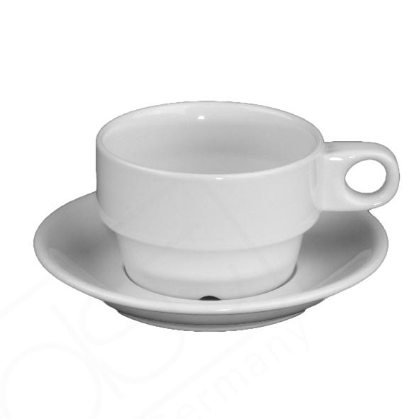 """Tee/Kaffeetasse """"Hospitalia"""" 0,20 l mit UTA 138 (**)"""